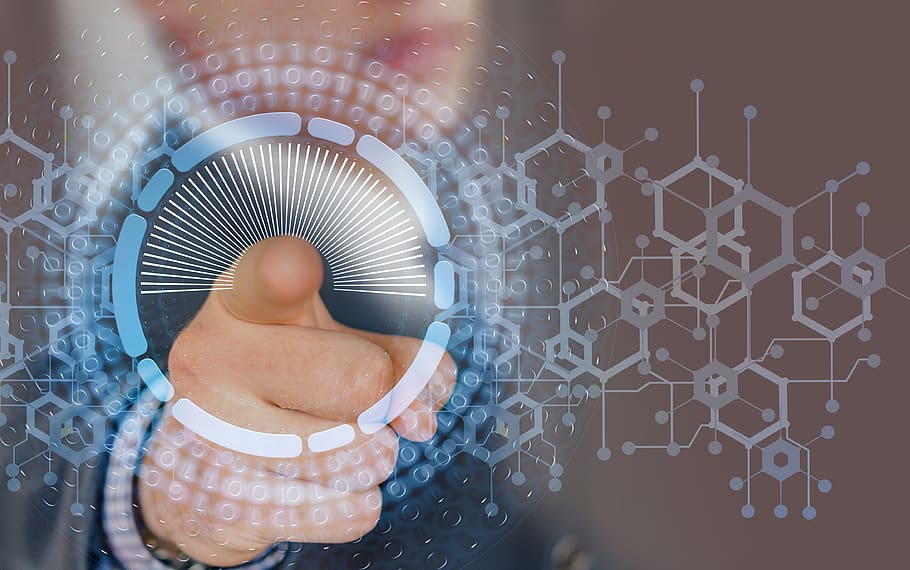 internet-cyber-network-finger
